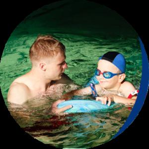 pływanie z instruktorem